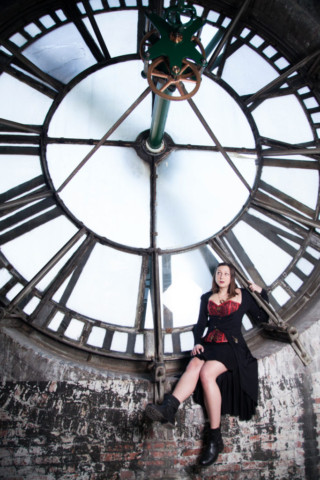 Steampunk Baltimore Bromo Tower photography