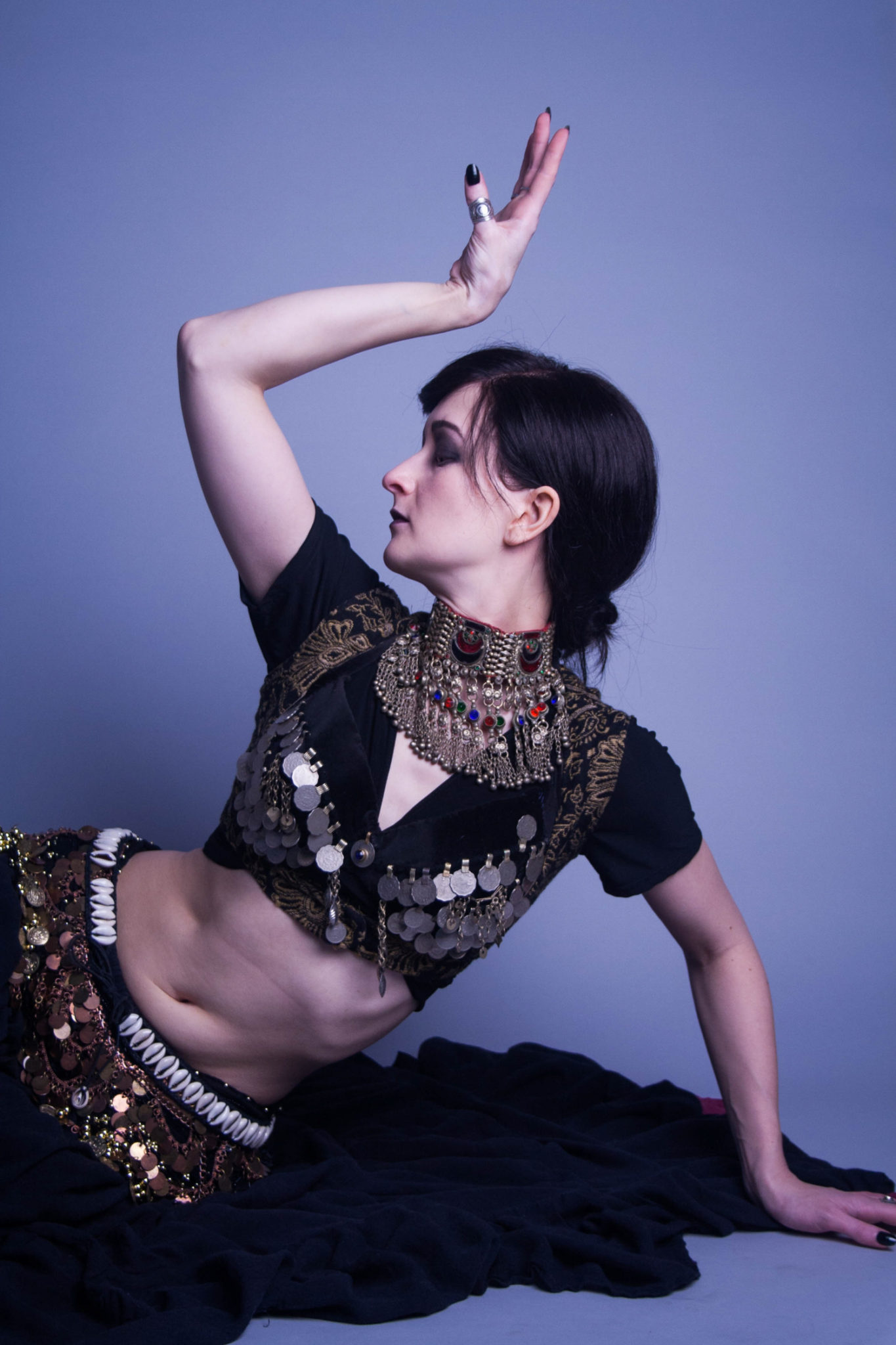 Belly dancer portrait