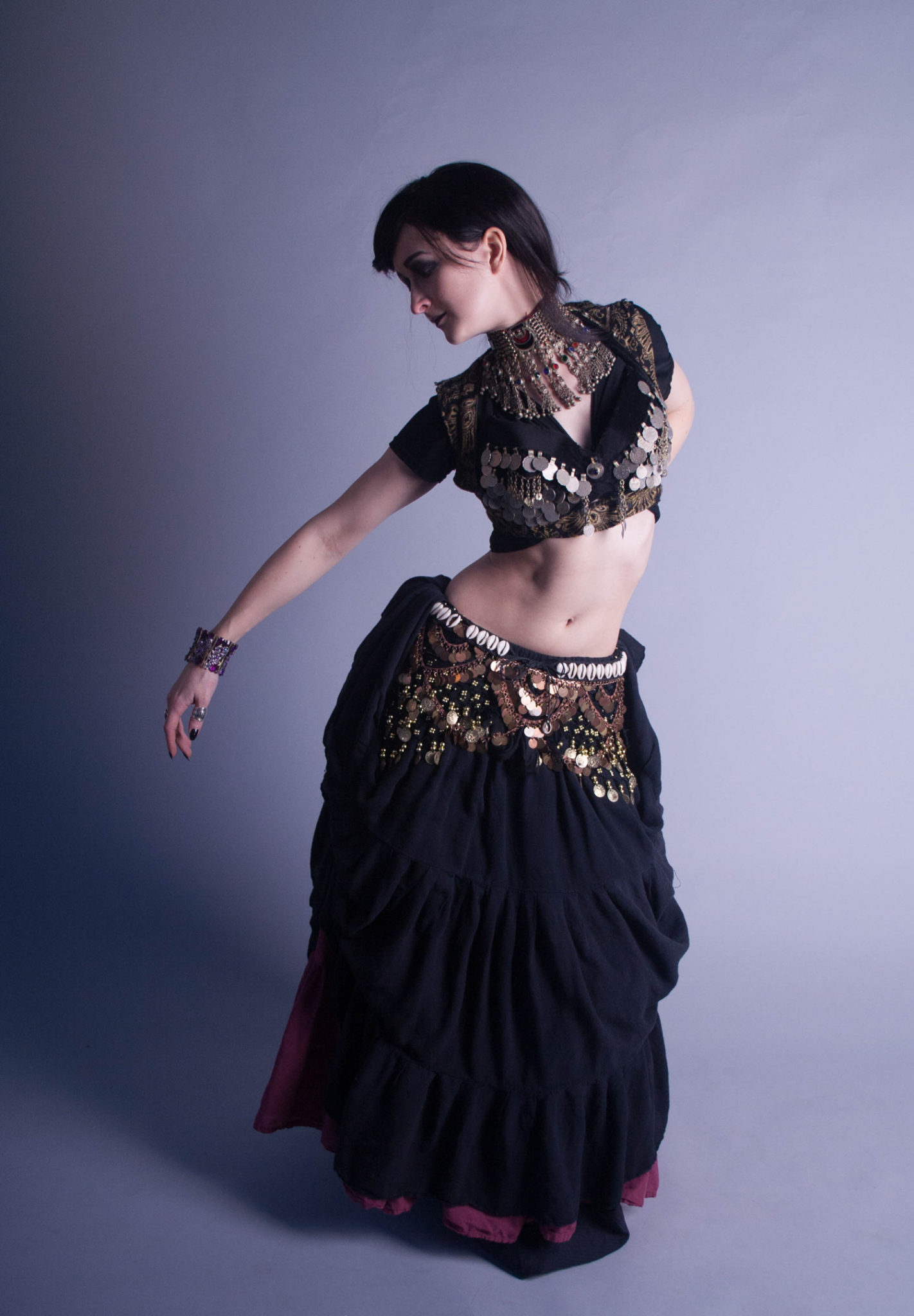 Belly dancer portrait,